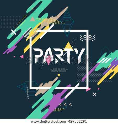 stock-vector-abstract-background-for-party-poster