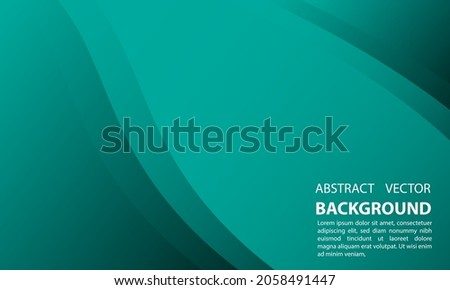 abstract background geometric gradient green tosca gradient with a simple and elegant style, for posters, banners, and others, vector design eps 10