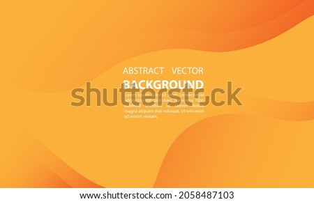 abstract background geometric gradient orange gradient with a simple and elegant style, for posters, banners, and others, vector design eps 10