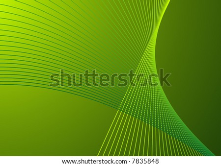 Abstract background green vector illustration.
