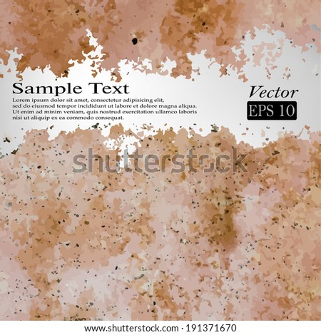 Abstract background.  Grunge texture. Vector format.