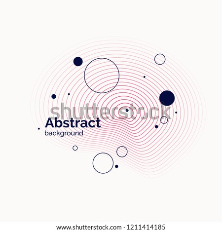 Abstract background in a flat, minimalistic style. Vector illustration