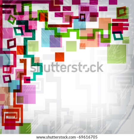 abstract background in grunge