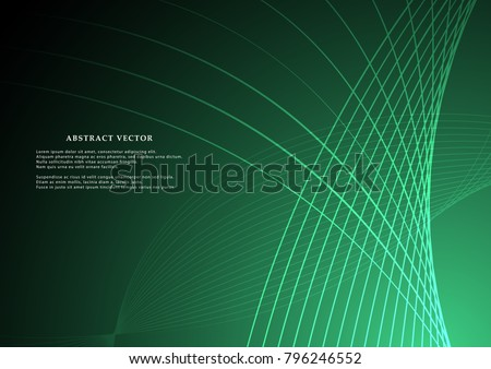 Abstract background in modern style, vector illustrations. bright lines.The graphic design for use in the projects business, science, education and technology.