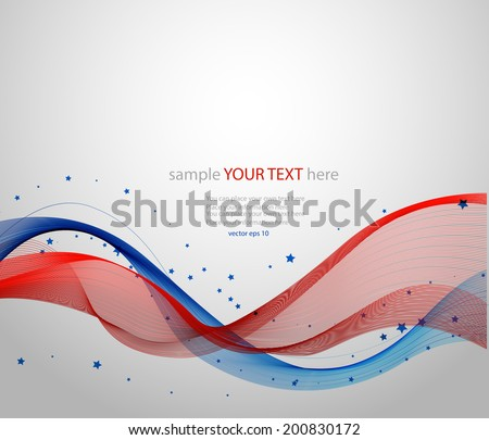 Abstract background, Independence Day