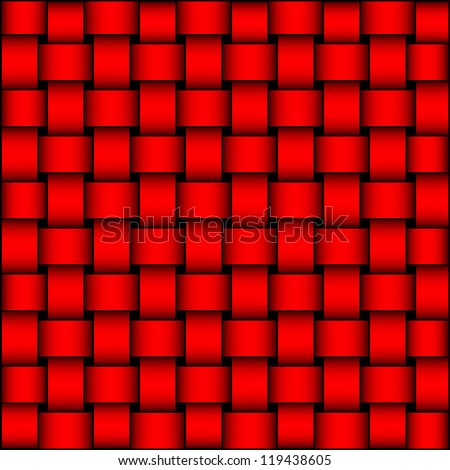 Abstract background - intertwined bands - interwoven - interlacery pattern