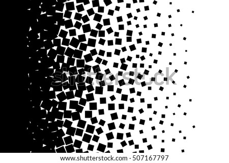 Abstract background isolated black elements on white background vector illustration