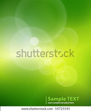 Abstract background light green. Vector illustration. - stock vector
