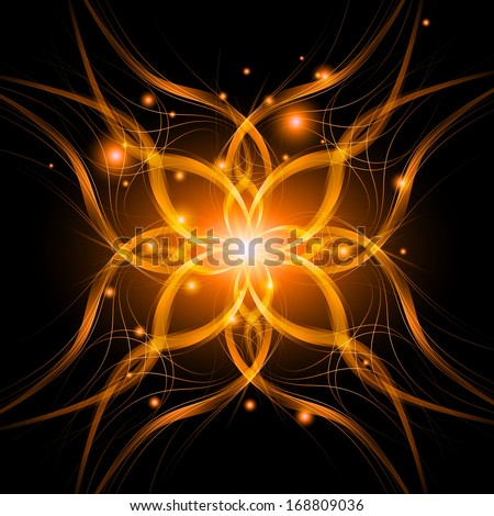 abstract background light lines