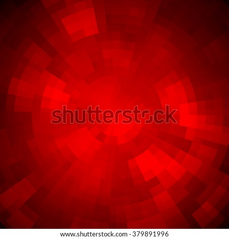 Abstract background made of shiny mosaic pattern. Disco style.  For design party flyer, leaflet and nightclub poster. Red color - Shutterstock ID 379891996