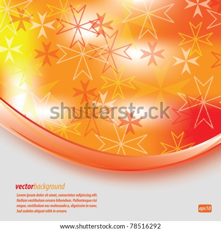 Abstract Background Maltese Cross