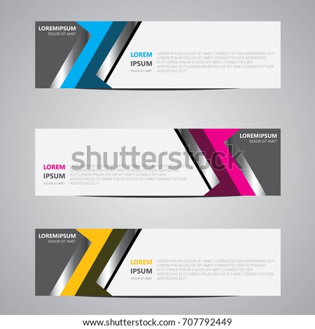 Abstract background, modern banner design.vector illustration