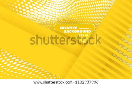 stock-vector-abstract-background-modern-hipster-futuristic-graphic-yellow-background-with-texture-vector