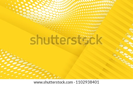 stock-vector-abstract-background-modern-hipster-futuristic-graphic-yellow-background-with-white-stripes-vector