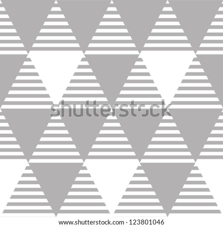 Abstract background. Modern seamless pattern with triangles. Vector illustration