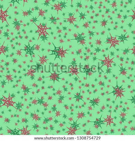 Abstract background multicolored cobweb grid seamless pattern.