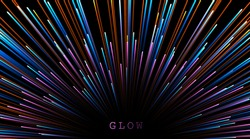 Abstract background neon glow colors.Explosion in universe. Cosmic background for event, party, celebration. Speed of light in galaxy.