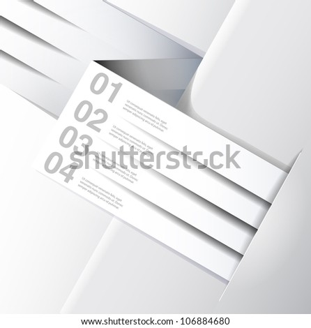 abstract background, number line, can be used for website, info-graphics, number banner