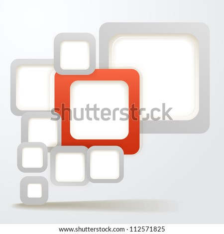 abstract background of boxes