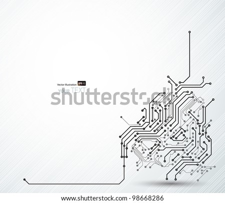abstract background of digital