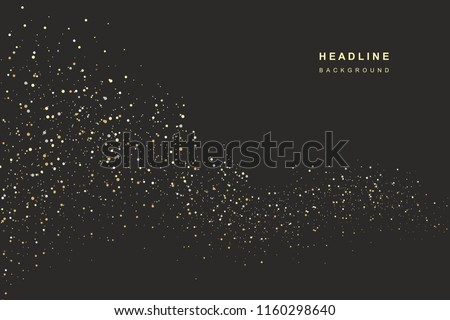 abstract background of dots