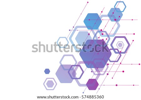 abstract background of elements