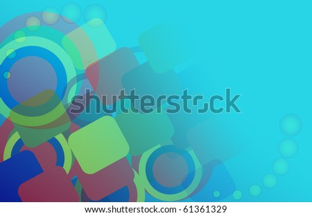 abstract background of geometric shapes. vector illustration eps10