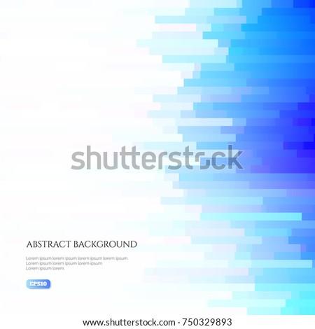 abstract background of many