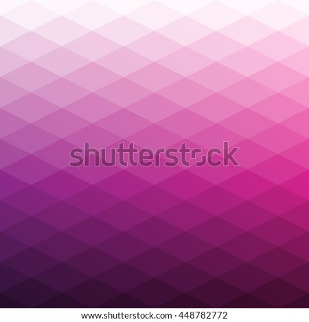 Abstract background of rhombus. Geometry triangle, mosaic illustration with gradient colors.
