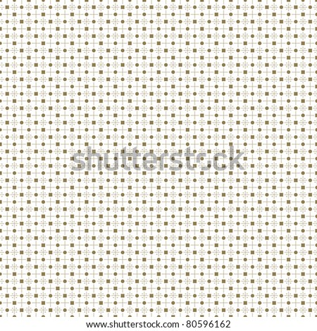 Abstract background of seamless dots and checkered pattern