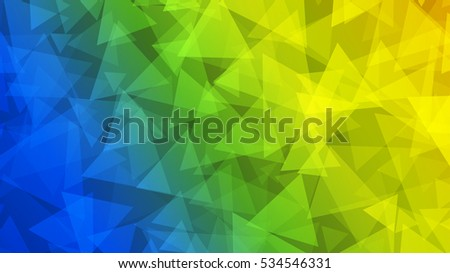 stock-vector-abstract-background-of-small-triangles-in-yellow-green-and-blue-colors
