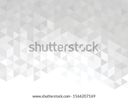 Abstract background of triangles, vector design - Vector pattern
