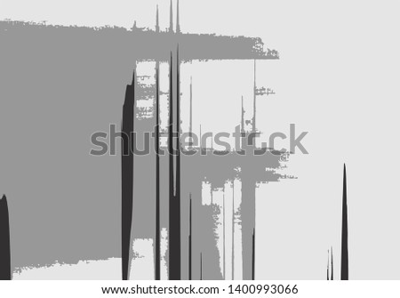 Abstract background or texture. Interference, glitch effect, liquid effect. Black and white