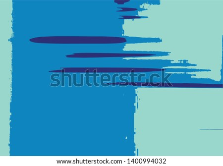 Abstract background or texture. Interference, glitch effect, liquid effect. Colorfull, blue