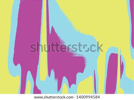 Abstract background or texture. Interference, glitch effect, liquid effect. Colorfull, pink, yellow, blue