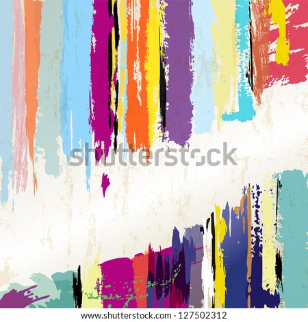 abstract background, paint strokes,with free copy space