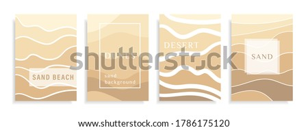 abstract background sand on a