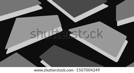 Abstract background. Seamless background. Scattered squares. Squares. Background of the frame. Duplicate elements. Square shapes. Vector graphics