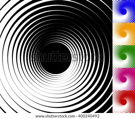 abstract background set with
