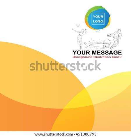 Abstract background ( sport theme ) .Vector eps 10