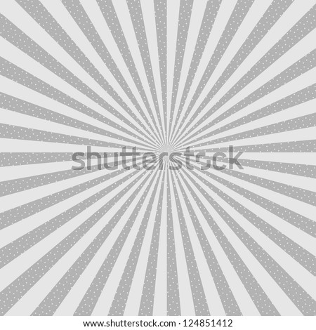 Abstract Background. Star burst, halftone. Vector eps10