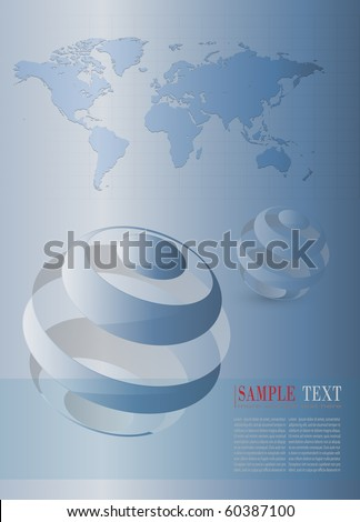 Abstract background stylish blue, vector - stock vector