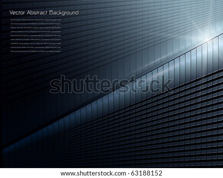 Abstract background stylish blue, vector.