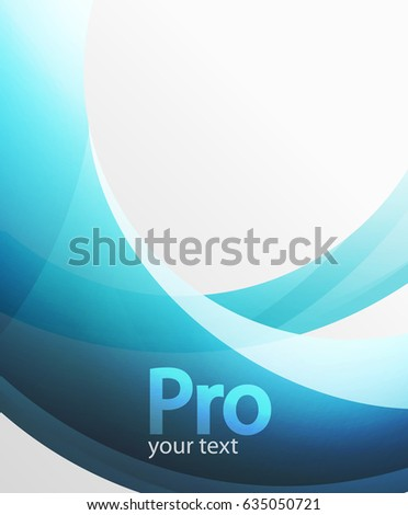 abstract background  swirl wave