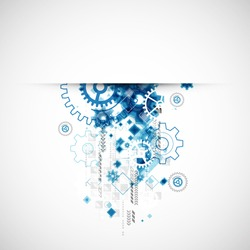 Abstract  background, technology theme for your business. Vector