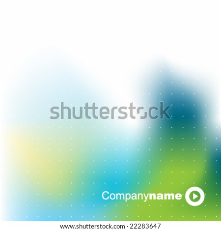 abstract background texture - trendy business template with copy space Contemporary texture in blue green color
