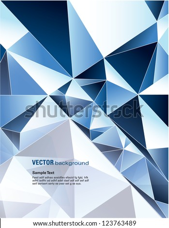 Abstract Background. Vector Design.