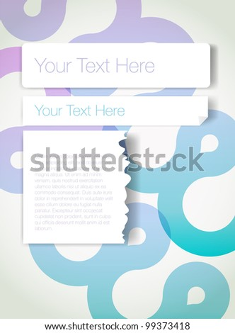Abstract Background Vector Design Concept