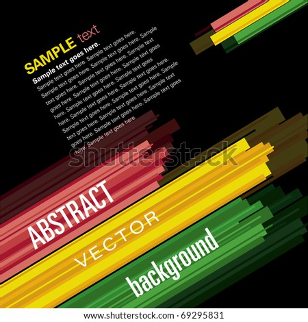 Abstract Background. Vector eps10.