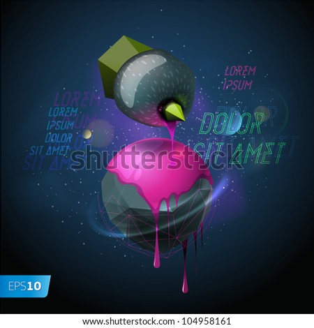 Abstract background, vector Eps10 illustration.